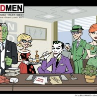 Batman Villains as Mad Men Characters