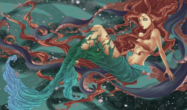 The Transformation by elotta - Little Mermaid, Disney, Fanart
