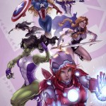 Female Avengers Team by Drake Tsui