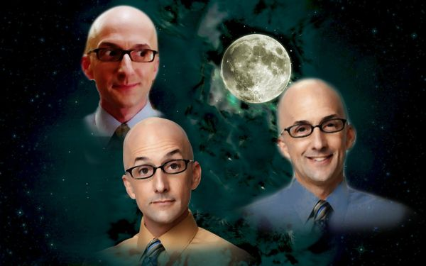 Community's Dean Craig Pelton (Jim Rash) x Three Wolf Moon