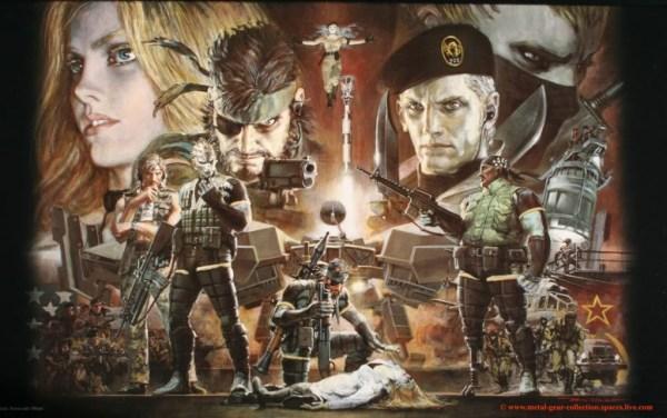 Metal Gear Solid Artwork by Noriyoshi Ohrai - Video Games, Illustration