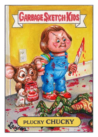 Plucky Chucky - Child's Play x Gremlins x Garbage Pail Kids Mashup