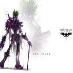 Gotham Gears: The Joker by Justin Currie - Batman, Robots, Art