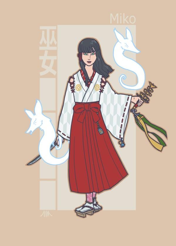 Jidaigeki X-Men - Jean Grey by genesischant - Phoenix, Samurai Period-Drama