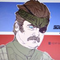 Ron Swanson is Solid Steak - Parks and Recreation, Metal Gear, mashup