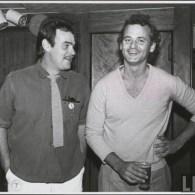 Bill Murray and Dan Aykroyd Hanging Out