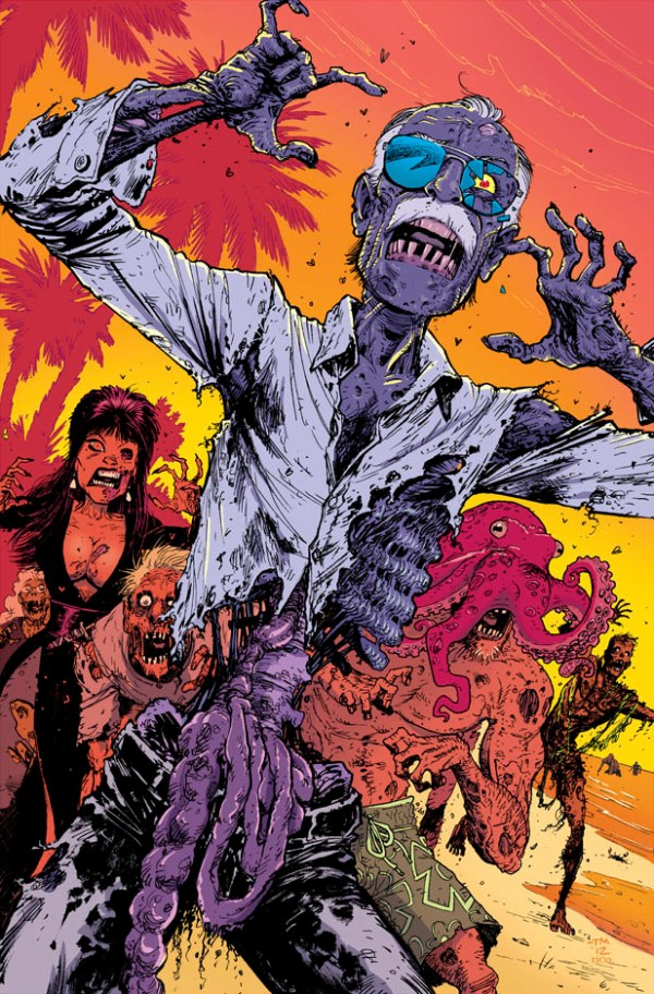 Zombie Stan Lee by Tony Moore - Comics, Art