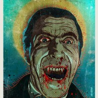 Horror of Dracula - Christopher Lee - Hammer Horror Art