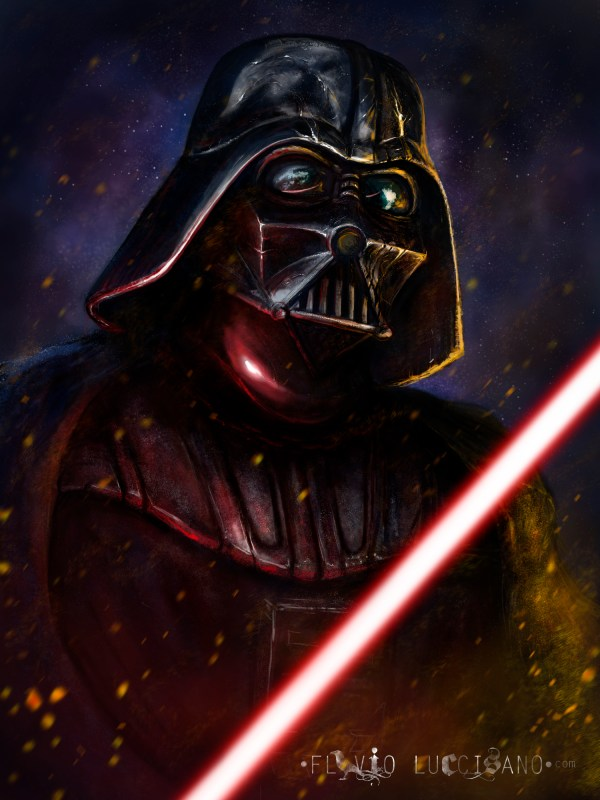 Darth Vader by Flavio Luccisano - Star Wars Fan Art
