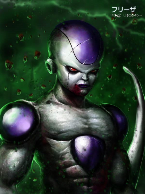Frieza by Flavio Luccisano - Dragon Ball Z, Anime, Fan Art