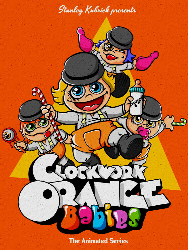 Stanely Kubrick's A Clockwork Orange meets Jim Henson's Muppet Babies