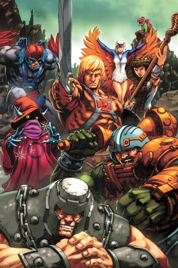 Masters of the Universe, The Good Guys by Espen Grundetjern - He-Man Art