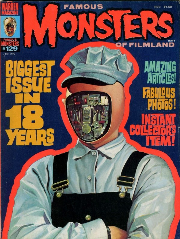 Famous Monsters of Filmland #129