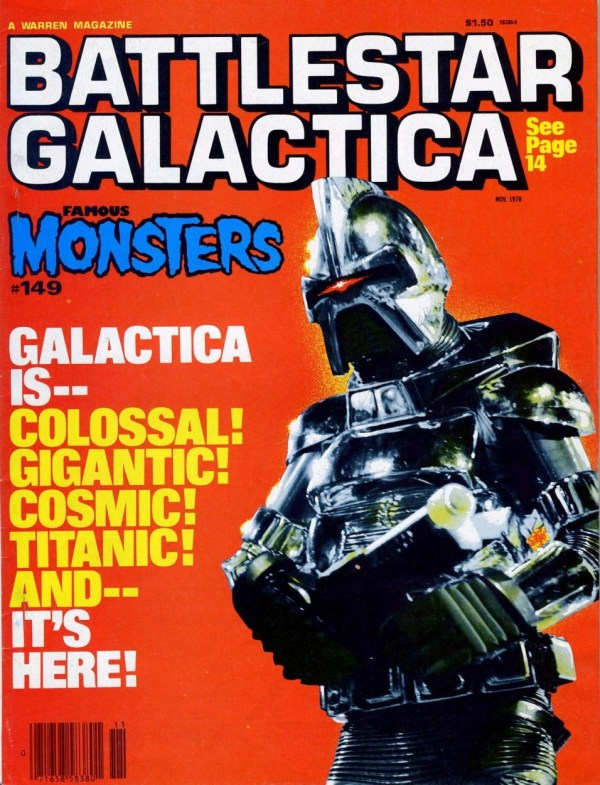 Famous Monsters of Filmland #149 - Battlestar Galactica Cylon