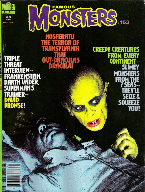 Famous Monsters of Filmland #153 - Nosferatu