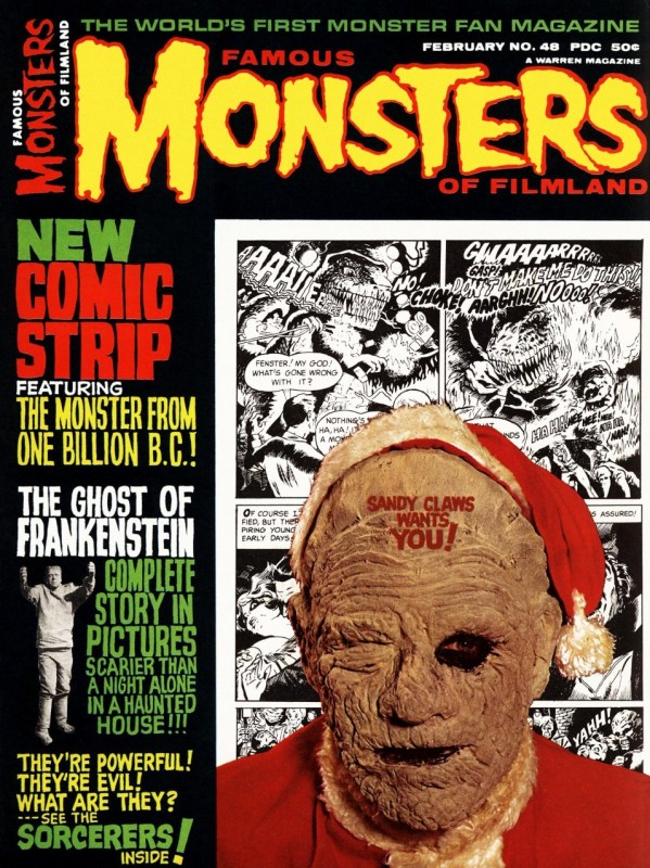 Famous Monsters of Filmland #48 - Sandy Claws