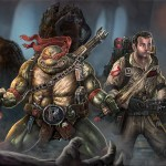 Raphael and Peter Venkman Teamup - TMNT/Ghostbusters