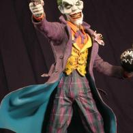 The Joker sculpture by Micky Betts - Batman Comics