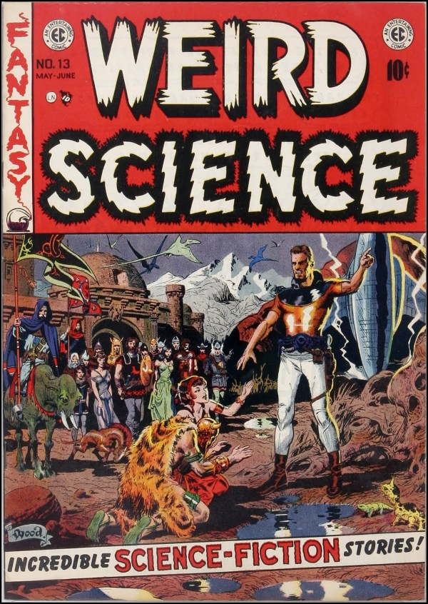 Weird Science 13 Cover Art by Wally Wood