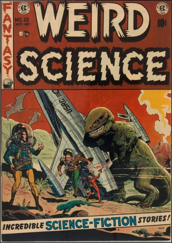 Weird Science 15 Cover Art by Wally Wood