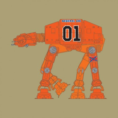 Greased Lightning AT-AT - General Lee, Star Wars
