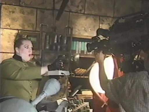 MST3K Last Dance - Mary Jo Pehl Filming Scene as Pearl Forrester