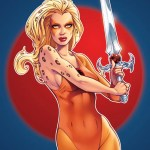 Cheetara Pinup Art by Elias Chatzoudis - thundercats