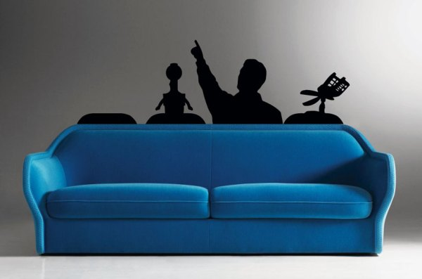 Ultimate MST3K Movie Room Decal - Mystery Science Theater 3000