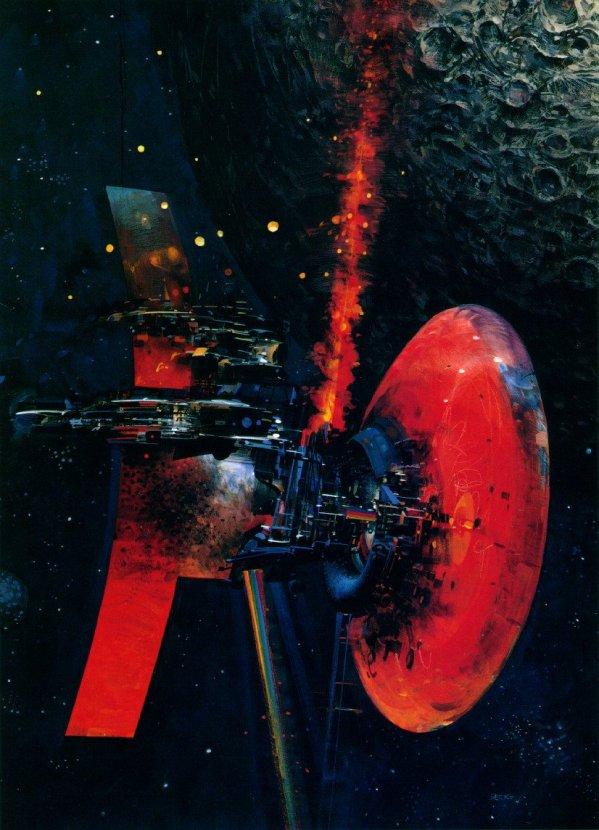 Science Fiction Illustrations by John Berkey - Sci-Fi Space Art (3)