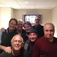 Epic Group Photo: Steve Martin, Chevy Chase, Martin Short, Dan Aykroyd, Tom Hanks, Paul Simon, and Lorne Michaels