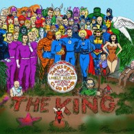 Jack Kirby characters in Sgt Pepper's Lonely Hearts Club Band by Nick Perks