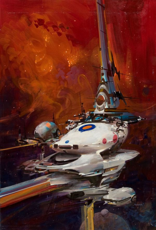 Science Fiction Illustrations by John Berkey - Sci-Fi Space Art (9)