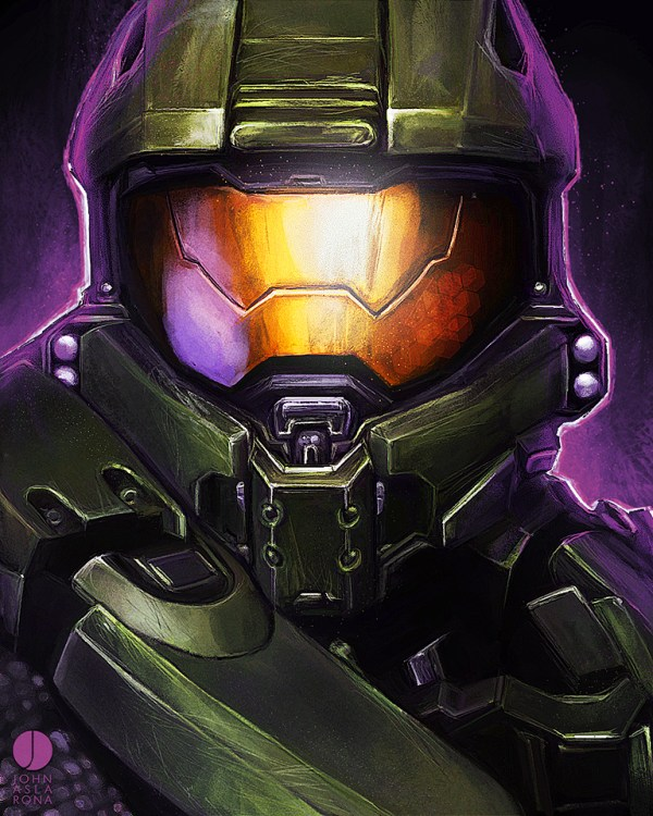 wake up john by John Aslarona - Halo Master Chief