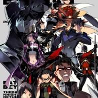 Manga Style DC Comics Superheroes by STAR Kageboushi - Batman