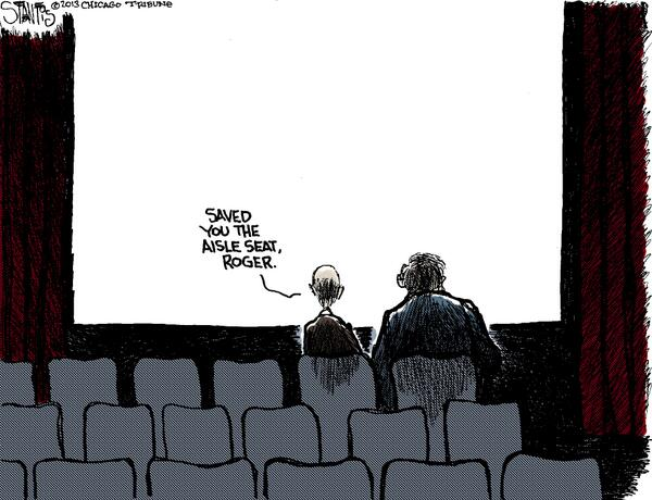 Touching Cartoon Tribute to Roger Ebert from Chicago Tribune