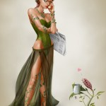 Bad News - Poison Ivy Art by Alanna Howe - Batman Villains - DC Comics