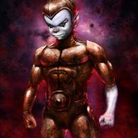 Badass Copper Kidd from SilverHawks by Flavio Luccisano