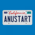 ANUSTART - Arrested Development T-Shirt - Tobias Funke LIcense Plate - David Cross