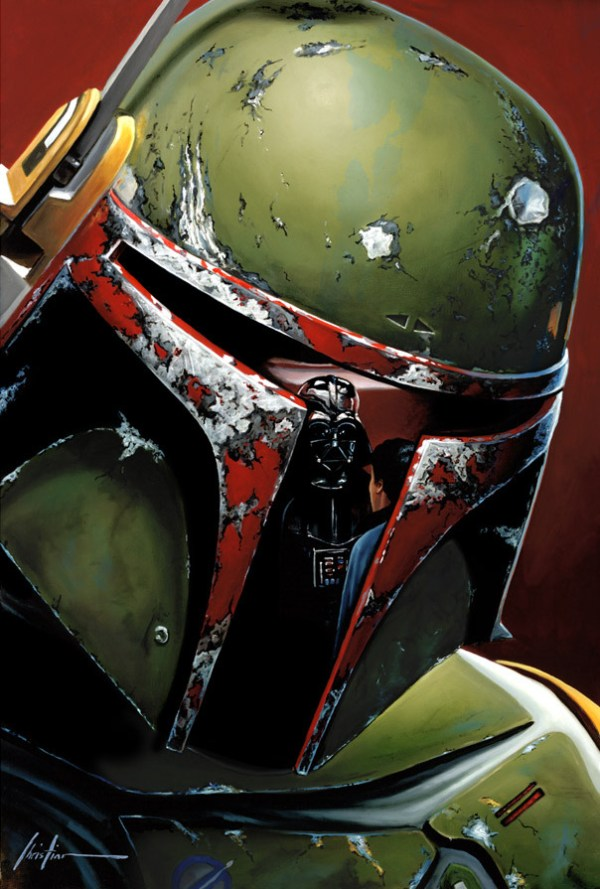 Boba Fett by Christian Waggoner - Star Wars Art