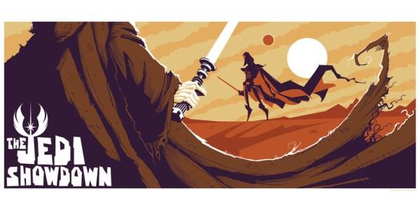 The Jedi Showdown by Gris Grimly - Darth Vader - Star Wars Art