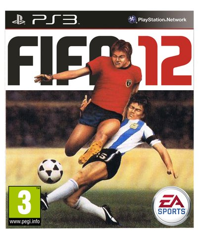 retro fifa box art - vintage 1980s style video game covers for modern games