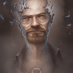 Walter White from Breaking Bad by Ty Dunitz