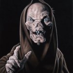 Velvet Crypt Keeper Painting by Bruce White