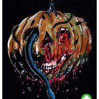 Halloween III Pumpkin Mask by Trevor Henderson - Season of the Witch, Silver Shamrock