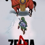 Akira x Legend of Zelda Mashup by Henrique Jardim - Anime + Gaming Art