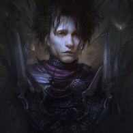 Edward Scissorhand Illustration by Shiyao