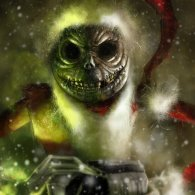 Jack Skellington in Santa Suit by Flavio Luccisano - Nightmare Before Christmas