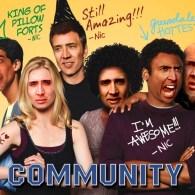 Community x Nicolas Cage Face Swap