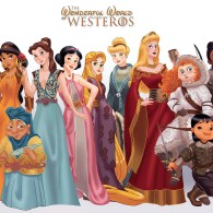 Disney Princesses as Game of Thrones Characters