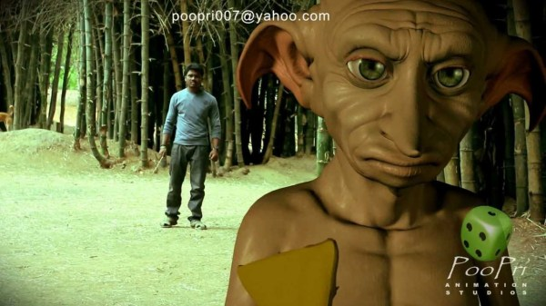 Indian Harry Potter battles Dobby